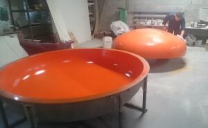 Производство изделий из стеклопластика