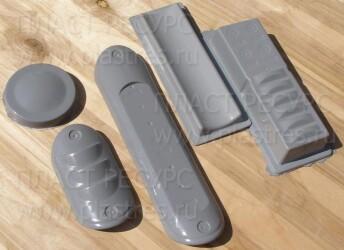 Детали корпуса прибора для устройств. Стеклопластик