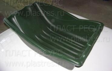 Детали из ПНД, полученные с вакуумной стеклопластиковой формы