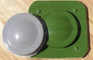 Стеклопластиковый корпус и матрица для его изготовления